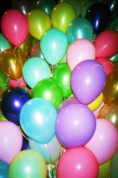 what a balloon party