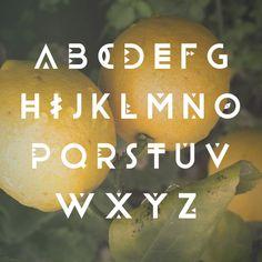 daniel mcqueen, text, behance, alphabet, craft gifts, fonts, feelings, design, crafts
