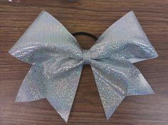 Silver Holographic Dot