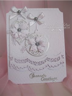 Flowers, Ribbons and Pearls: White Christmas ...