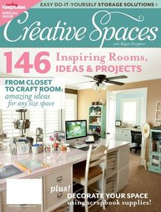 Creating Keepsakes - Creative Spaces at Scrapbook.com $14.99