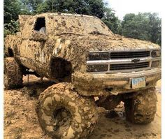 Sexy!! #muddy #truck #chevy