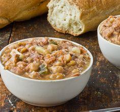Spanish Bean Soup (Potaje de Garbanzos)