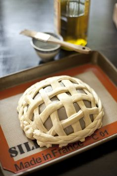 """An """"oldie but goodie"""" revived ... handmade woven bread basket."""