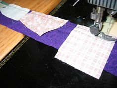 crumb quilt instructions, great for a scrap buster