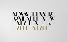 New Modern #typography