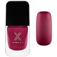 Formula X - The Brushed Metallics: a first-of-its-kind, matte metallic lacquer infused with lustrous mica for an eye-catching manicure. #Sephora #nails #nailspotting