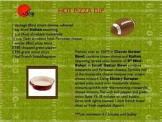 Another classic Pampered Chef recipe that's great for Game Day! http://www.pamperedchef.biz/labritta