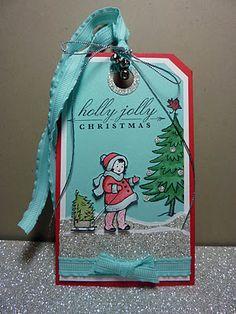 christma card, daili stamped, greet card, tag, glitter cardstock