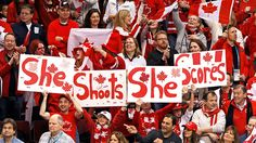 She shoots, she scores - women's hockey