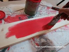How To Make Custom Distressed Wooden Signs   How To Distress Furniture   Distressed Furniture Tutorials