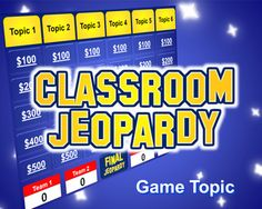 Tired of your old Jeopardy game? Check out this bright, fun PowerPoint template! http://bestteacherblog.com/jeopardy-powerpoint-template/