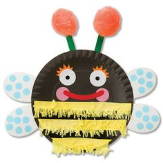 Paper Plate Bugs #Craft Idea