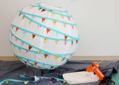 How To Make A Bunting Lantern!