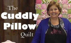 Great tutorial on how to make the softest quilt EVER! Thanks Jenny!