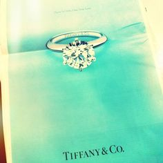 what every girl dreams of - a tiffany diamond :))