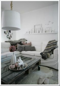 Mesa de palets para decorar 2
