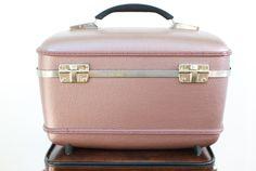 ladies vintage purple suitcases - Google Search