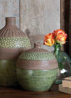 The Sedona Pottery Collection features natural textures and rich color, for a rustic yet modern look.