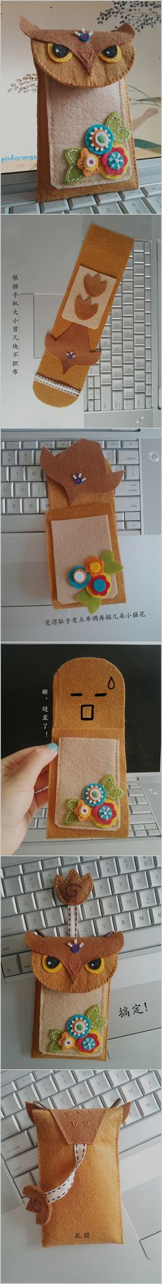 DIY Owl phone case   <3