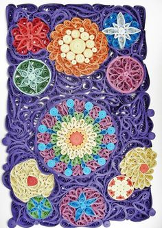 Tablou Quilling - Astral Energetic Connections (100 LEI la circulmagic.breslo.ro)