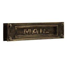 delux, color, salsburi industri, brass mail, antiqu finish