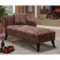 Patterson Tiger Chaise Lounge - Chaise Lounges at Hayneedle