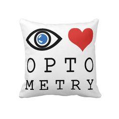 Eye Love Optometry Pillows