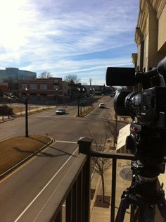 Making a little time lapse video in downtown Tupelo.