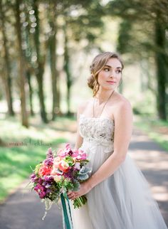 Stunning image by Marta Locklear Photography . Sugar Magnolia Floral . Fete Studio Design . Poplar Springs Inn