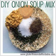 Gluten Free Onion Soup Mix
