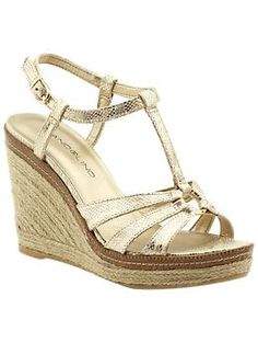Wedge shoe for summer