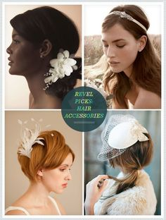 Bridal Hair Accessories @Leigh Edwards