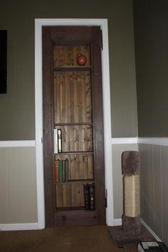 DIY Secret Bookcase Door - Imgur