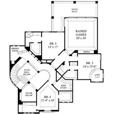 Dream Home - Floorplan on Pinterest