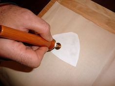 A Lapin Life: Woodworkers Transfer Tool Will Transfer Onto Fabric