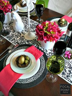 This Easter, don't take your tablestyling so seriously - Have FUN with it with finds from HomeGoods! #Spring #Easter #Tablescape #HomeGoodsHappy #sponsored