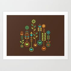 Love Garden Art Print by Budi Satria Kwan - $19.97