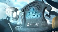 ABC Family '13 Nights Of Halloween' 2013 Schedule