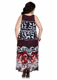 maxi dresses, knot front, front maxi