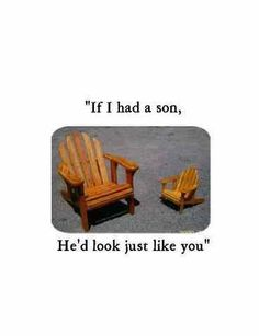 """PIC:  #emptychairday version of @BarackObama """"If I had a son..."""" comment.  LMAO!!!"""