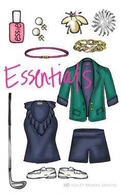 Golf Essentials by Ashley Brooke Designs  Golf Banker  http://www.golfbanker.com/?hop=megairmone