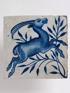 Tile by William De Morgan