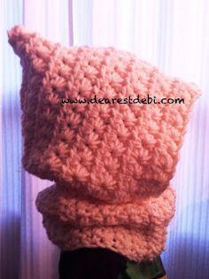 Star Spider Cowl *Free* Crochet pattern by DearestDebi