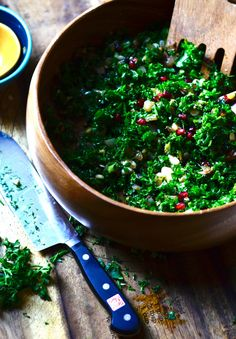 Pomegranate Kale Salad