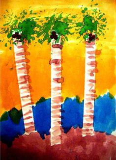 Palm Tree Art