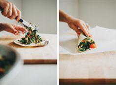 Fiesta Kale Slaw Wraps | Sprouted Kitchen