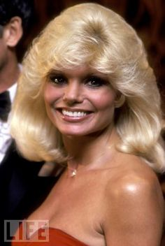 Bigger and Blonder  WKRP in Cincinnati sex symbol Loni Anderson at the 1981  Emmy show.