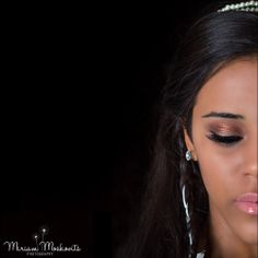 Super cool #symmetry shot #princess looks like #royalty #nudelip #bronzemakeup  Photography by Miriam Moskovitsm New York photographer Hair by Ruchy Schwarzmer, Makeup by Rachel Hoffman