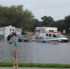 Tropical storm Debby - Tampa Rd and Alt 19, in Palm Harbor FL